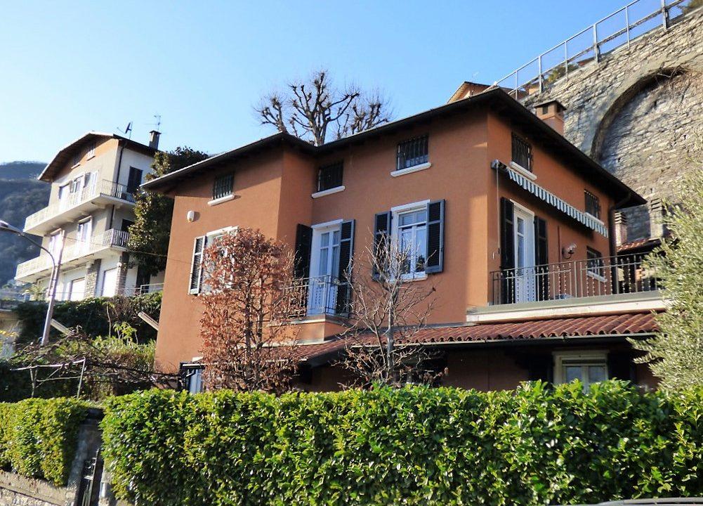 Moltrasio Villa with Lake Como view and garden  -  Villa