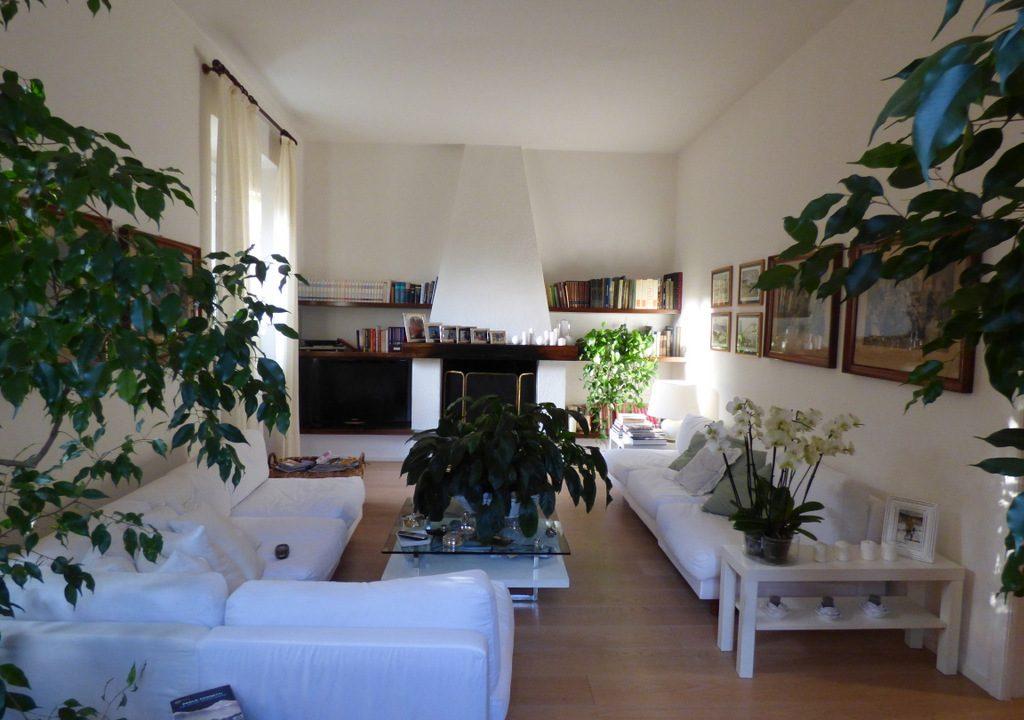 Moltrasio Villa with Lake Como view -  living room