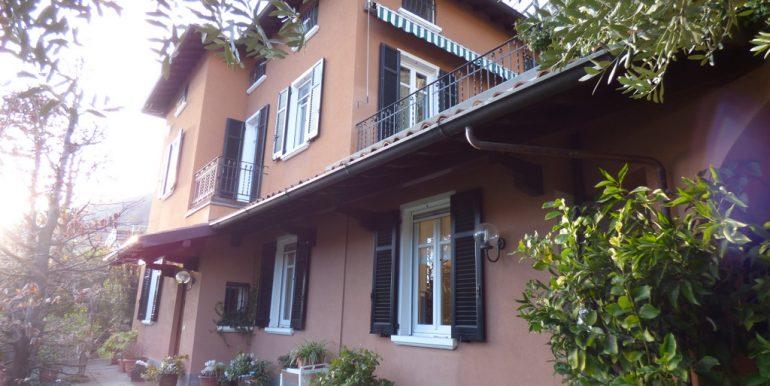 Villa with Lake Como view and garden