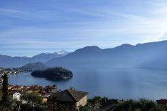 Apartment Sala Comacina with Lake Como view