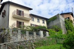 Lake Como San Siro House with garden and lake view