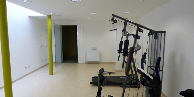 Fitness area - Musso apartment
