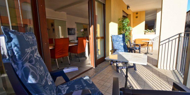 Apartment San Siro with Lake Como view  -  terrace