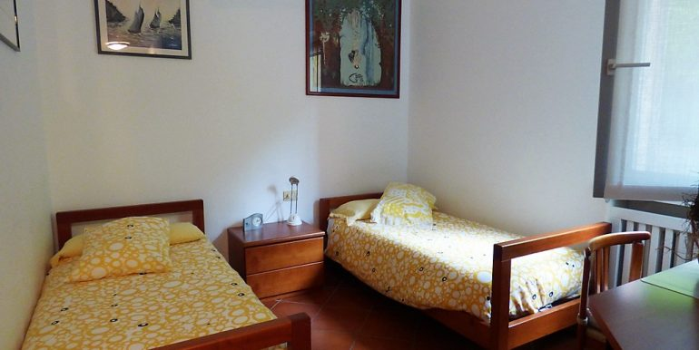 Bedroom with 2 beds- San Siro