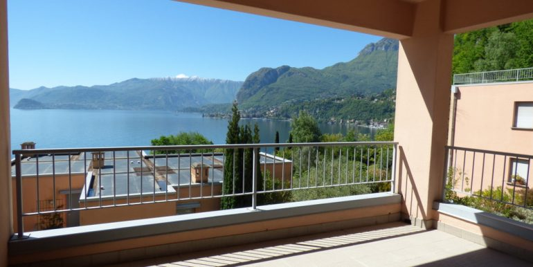 terrace of San Siro Apartment - Como Lake