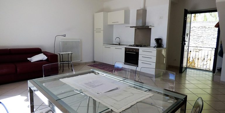 Apartment San Siro with terrace - Living room