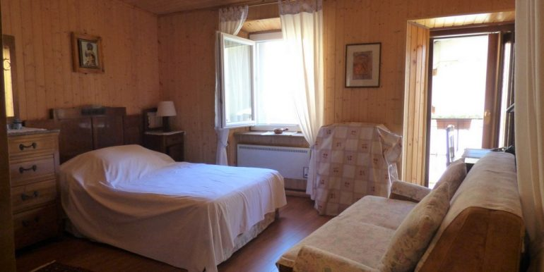 Apartments Plesio with Lake view and terrace - bedroom