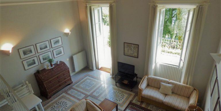 Living room - apartment in villa lake Como