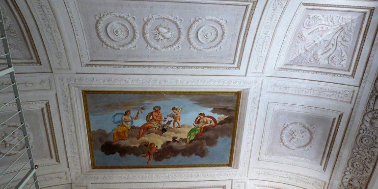 frescoes - Apartment in period vila in Tremezzo - Lake Como