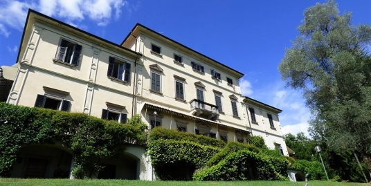 Tremezzo apartment in front lake period villa with park