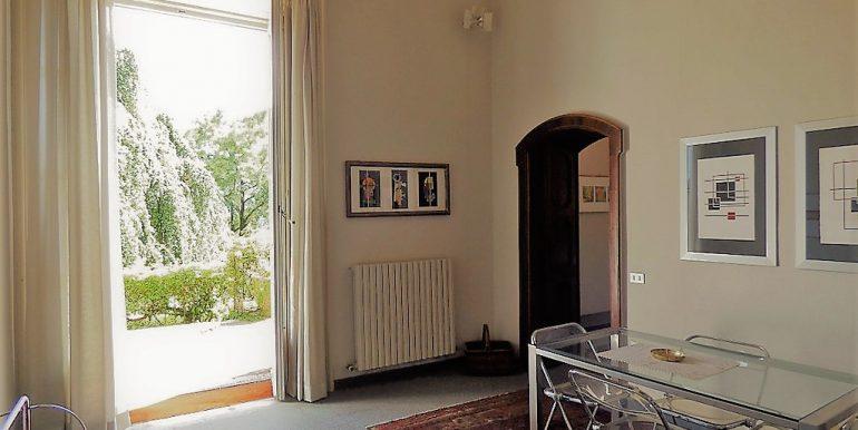 Living room in apartment in villa  Tremezzo