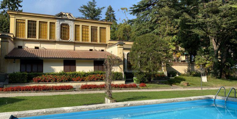 Lake Como - Villa and pool Tremezzina