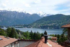 Lake como View from Apartment Mezzegra- Lake