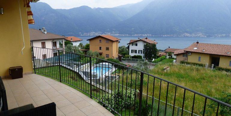 Apartment Tremezzina with lake view and pool