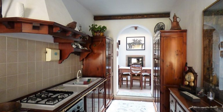 Kitchen in Argegno Apartment