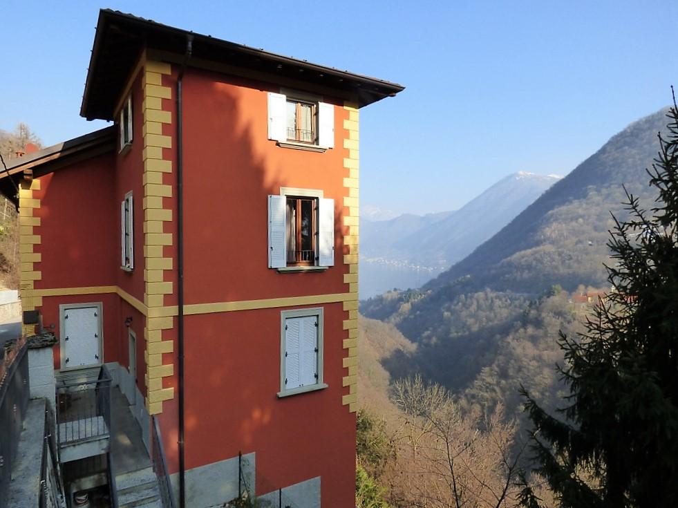 Dizzasco Apartment with Lake Como view