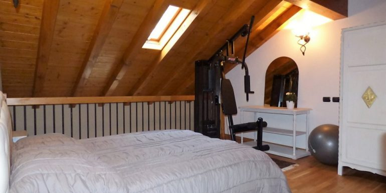 Bedroom - Como Lake apartment