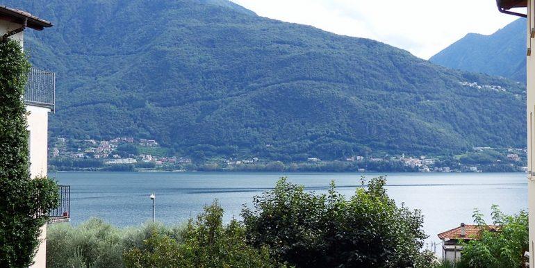 Lake Como view  from house in Pianello del Lario