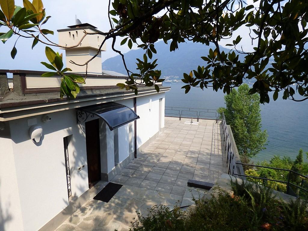 Front Lake Villa Pianello del Lario with Swimming pool
