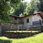 Garden and terrace in house in pianello del Lario - Lake Como