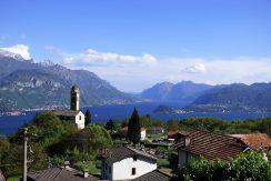 Amazing Plesio village and lake Como view
