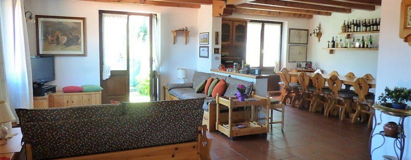 Tavern in villa Plesio - Lake Como