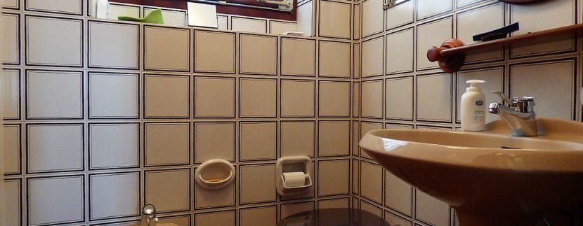 Bathroom in villa Plesio