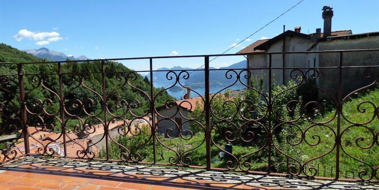 view from terrace-  Breglia