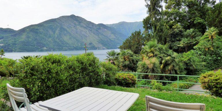 Lake view from semi-detached house- Tremezzo