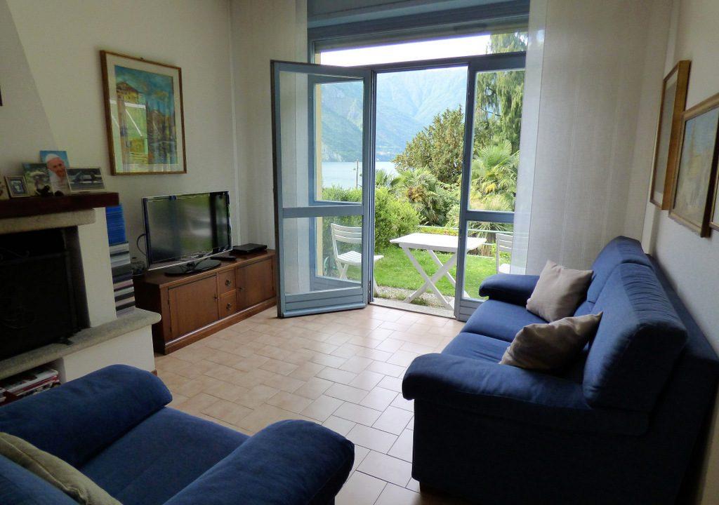 Living room in house Tremezzo