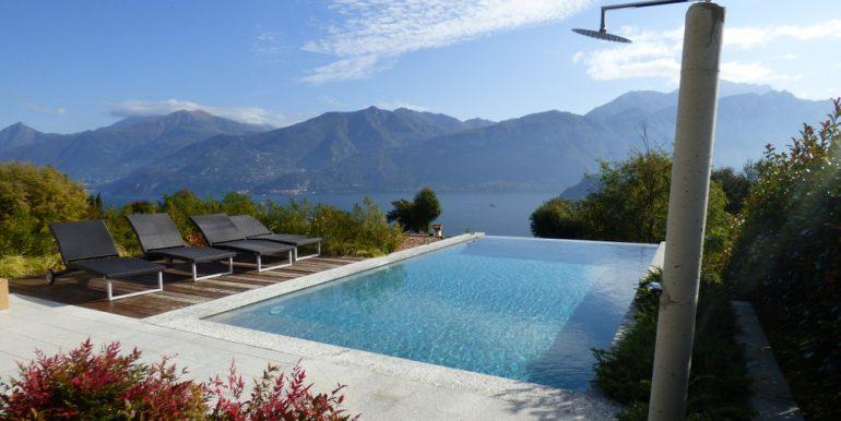 Tremezzina modern Villa - swimming pool