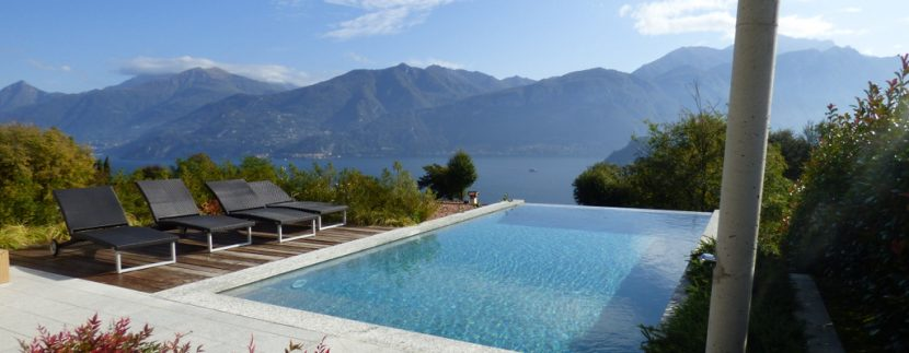 Tremezzina modern Villa - swimming pool