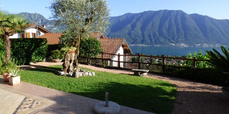 Lake Como Lenno Villa with lake view and garden