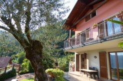 Lake Como Lenno Villa with lake view and garden - Front