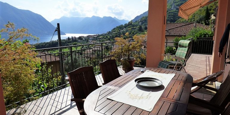Terrace in Lenno house - Lake como