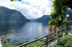 Beautiful Como lake view