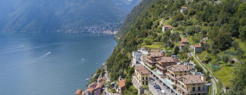 Modern Design Villa Colonno - aereal view