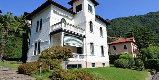 Argegno Villa Liberty with garden and lake view