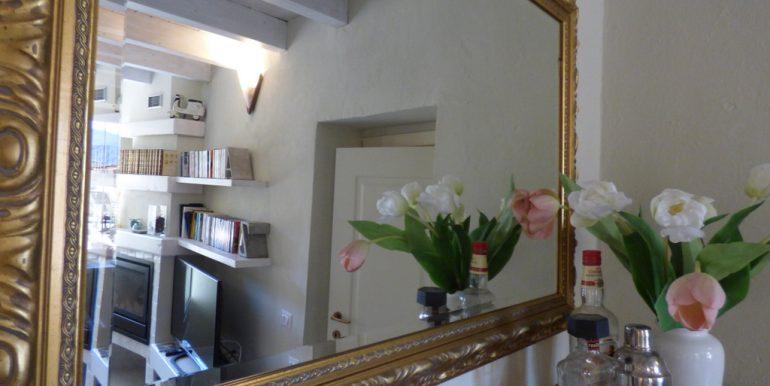 House Argegno Lake Como with Garden - Living area