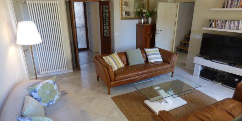 House Argegno Lake Como with Garden - Living room