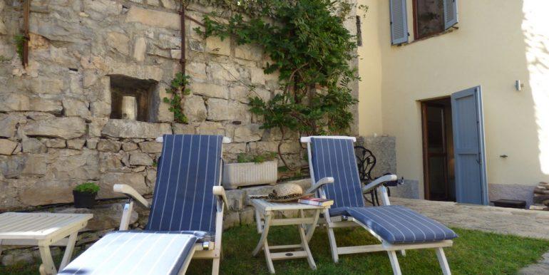 House Argegno Lake Como with Garden -  garden and patio Lake Como