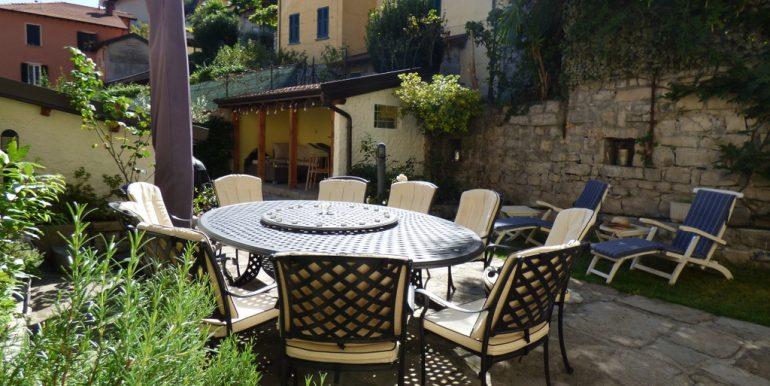 House Argegno Lake Como with Garden -  garden and patio