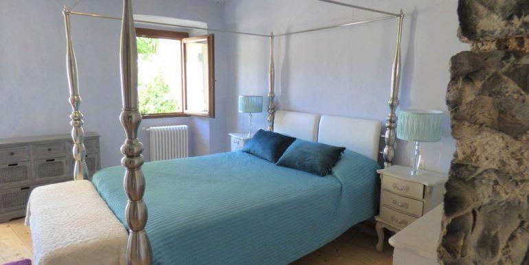 House Argegno Lake Como with Garden -  Bedroom