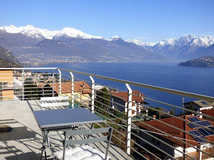 Apartment Pianello del Lario with Lake Como view
