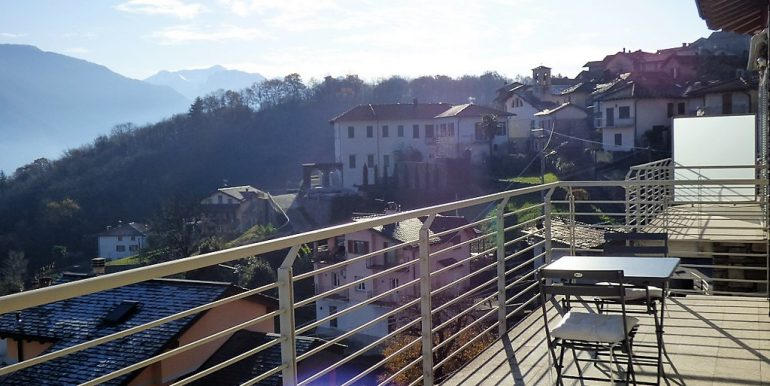 Pianello del Lario with Lake Como view - terrace