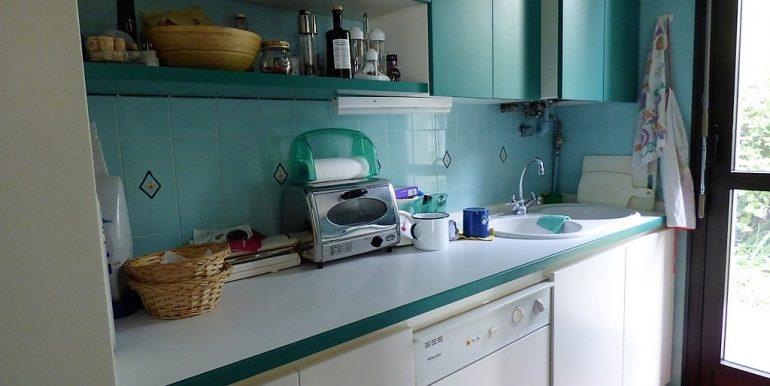 Kitchen in villa - detached villa in Tremezzo - Lake Como