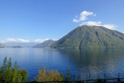 Lake view - House Brienno with garden and Lake Como view