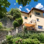 House Carate Urio with garden, terrace and lake view