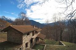 Lake Como Sorico House with Garden private