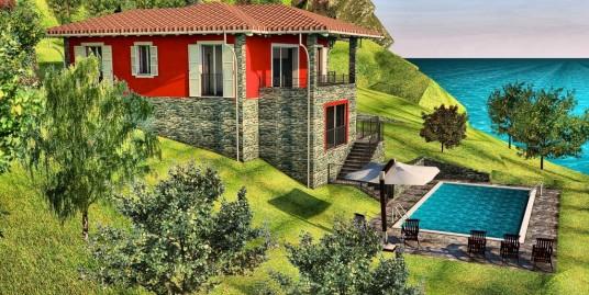 Lake Como Pianello Lario Renovated House Lake View